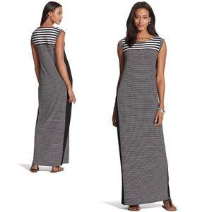 Dresses & Skirts - 🆕NWOT {CHICO'S} Striped Maxi Dress